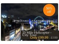 25 mile helicopter city tour