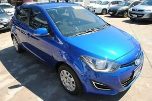 2014 Hyundai i20 PB MY15 Active Blue 6 Speed Manual Hatchback Townsville Townsville City Preview