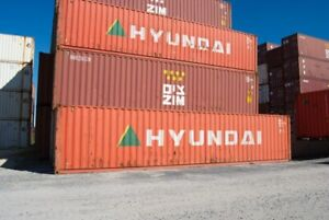 Shipping Containers for Sale!