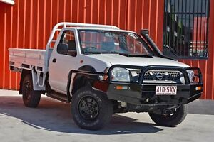 2012 Nissan Navara D22 S5 DX White 5 Speed Manual Cab Chassis Molendinar Gold Coast City Preview