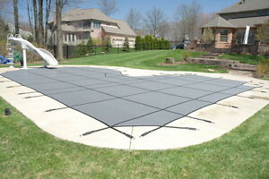 Swimming pool safety covers, winter covers and leaf nets. Cambridge Kitchener Area image 2