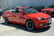 2008 Ford Focus LT Coupe Cabriolet Red 4 Speed Sports Automatic Convertible Mornington Mornington Peninsula Preview
