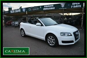 2010 Audi A3 8P MY11 1.8 TFSI Attraction White 7 Speed Automatic Cabriolet Toongabbie Parramatta Area Preview