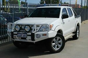 2007 Toyota Hilux GGN25R MY07 SR White 5 Speed Manual Utility Maddington Gosnells Area Preview
