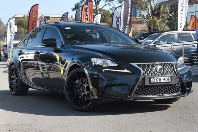 2013 Lexus IS350 GSE31R F Sport 8 Speed Sports Automatic Sedan