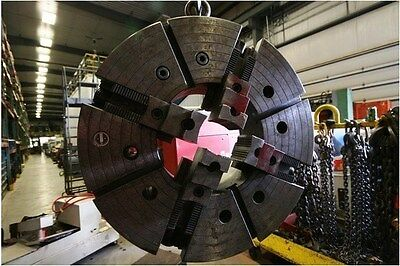 10336 Warner Swasey 4 Jaw Chuck With 12 Bore