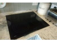 AEG Ceramic Hob 4 zone borderless touch control electric