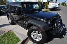 2010 Jeep Wrangler Unlimited * SATNAV * WINCH * NEW TYRES * NEW! Margate Redcliffe Area Preview