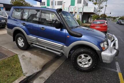 2001 Mitsubishi Pajero TURBO DIESEL * MANUAL * PACKED WITH EXTRAS Margate Redcliffe Area Preview