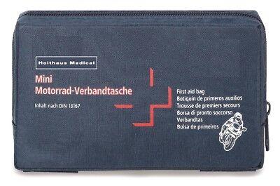 Motorrad Verbandtasche DIN 13167 Kraftrad / Bike Verbandkasten Erste Hilfe Set