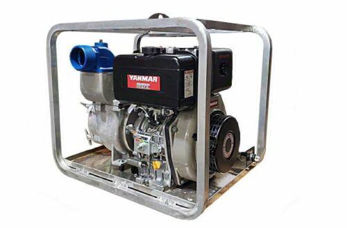 "4"" Yanmar Heavy Duty Diesel Trash Pump with Electric Start"
