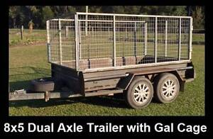 8 x 5 Trailer with Cage Maclean Clarence Valley Preview