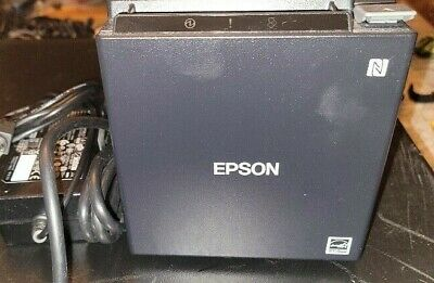 Epson Tm-m30 Thermal Receipt Printer Autocutter Usb Ethernet Black