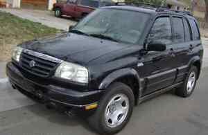 2003 Suzuki Grand Vitara 1100$ neg.
