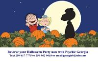 Halloween Party this year with Edmonton's Psychic Georgia