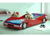 Great Kids Car Bed. Red, Good order