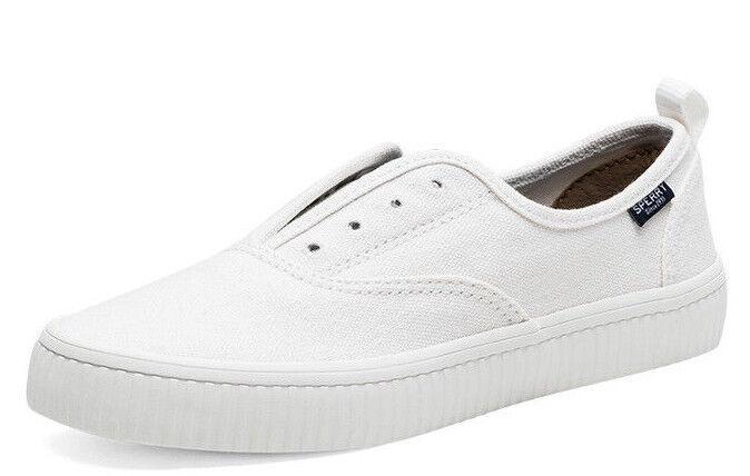 Sperry Top-Sider Women's Sneaker White Crest Creeper Memory Foam Sz 6.5- 9.5 NIB