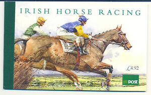 Ireland-1996-Prestige-Booklet-Horse-Racing-SG-SB-55-Hibernian-SB-55
