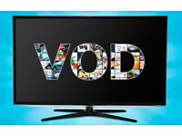12 Month Video on demand Package FOR SMART TV PHONES WINDOWS etc VOD Only