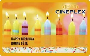 $20 Cineplex Gift Card