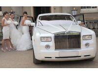 Phantom Rolls Royce wedding car hire, vintage wedding car hire, wedding car hire, led dance floor,