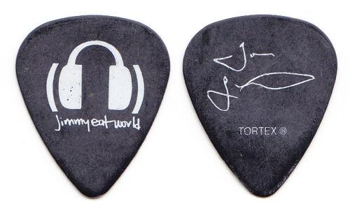 Jimmy Eat World Tom Linton Signature Black Guitar Pick - 2003 Tour