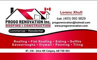 Roofing company call for free estimate