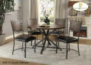 Round table Dining Set on Sale (BD-2378)