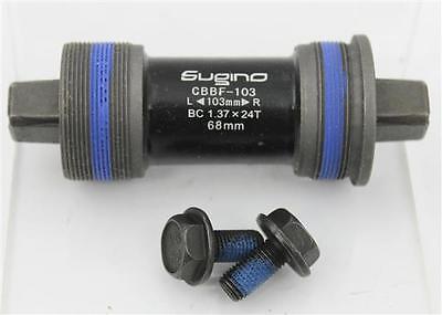 SUGINO CBBF-103 68 x 103mm Messenger JIS Taper Track Bottom Bracket Fixed (Fixed Gear Bottom Bracket)