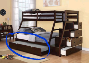 Trundle for single matress