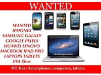 IPHONE X 8 PLUS 7 6S WANTED SAMSUNG GALAXY S8 S9 NOTE 8 MACBOOK IPAD PRO APPLE WATCH LAPTOP DAMAGED