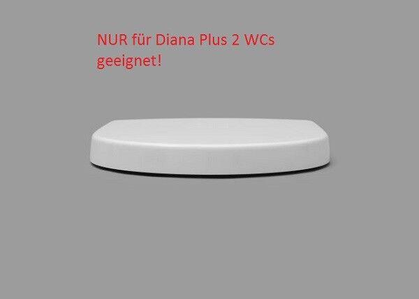 WC Sitz Diana Plus 2 * Edelstahlscharnier * Take Off * Softclose * Absenkautomat