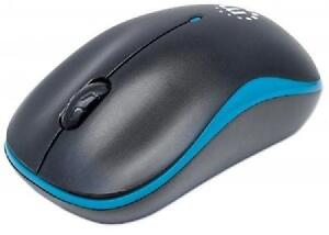 Manhattan Success Wireless Optical Mouse - USB, Three Buttons wi