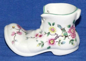 James Kent Old Foley Chinese Rose Porcelain Boot