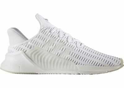 NIB adidas Climacool 02/17 Triple White MEN'S SNEAKERS BZ0248 SIZE 9.5, 10