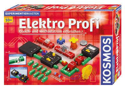 Kosmos Elektro Profi Experimentierkasten 620813 Elektronik Physik Neu & Ovp