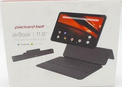 """Packard Bell M11550X 11.6"""" 2-in-1 AirBook Wi-Fi Tablet Black"""