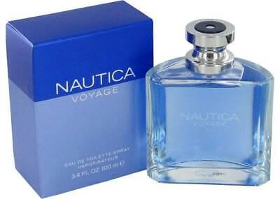 Nautica Voyage By Nautica 3.4 Oz 100 ML EDT Spray Cologne For Men Sealed Box.
