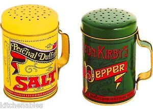 LARGE BBQ GRILL STOVE SIZE SALT & PEPPER SHAKERS SET RETRO VINTAGE STYLE  4