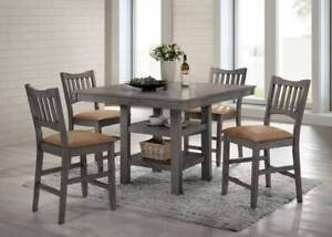 Suburba 5pc Counter Height Dining Set
