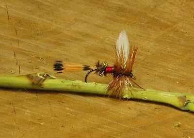 Grouse /& Black Gilchrist Mouches nassfliegen 6 pièces d/'une taille
