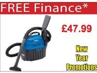 DRAPER 06489 10L 1000W 230V WET/DRY VACUUM CLEANER VALETING