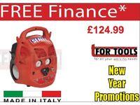SEALEY SAC106B COMPRESSOR 6LTR OIL FREE BELT DRIVE 1.5HP ITALIAN COMPRESSOR