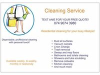 Experienced Domestic Cleaner Available in Nottingham