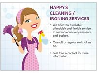 Happy's Cleaning / Ironing Services