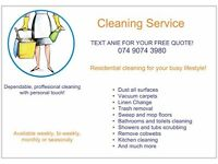 Domestic Cleaner Available in Nottingham