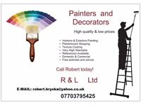 Professional Painter & Decorator available in your area
