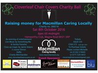 Cloverleaf Chair Covers Charity Ball Tie Ball