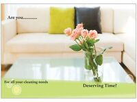 Deserving Time - domestic cleaning service