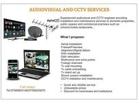 TV Aerial Satellite CCTV From £40